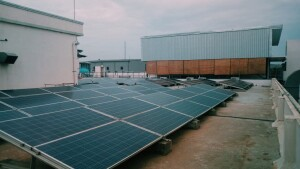 Chennai, India - Hybrid Solar Power System Project
